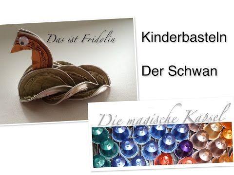 Nespresso Deko Anleitung - der Kapsel-Schwan - die magische (Kaffee-) Kapsel - YouTube