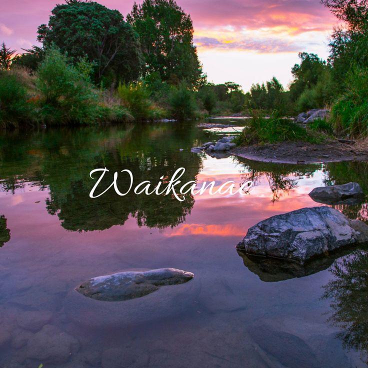 Waikanae river, New Zealand