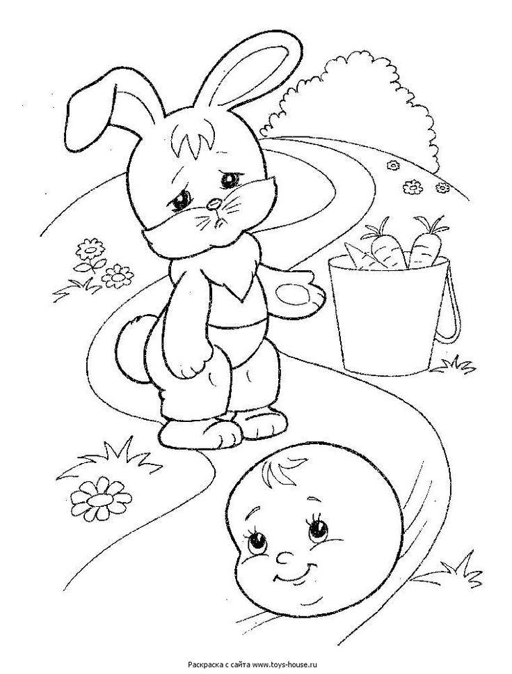 Картинки сказки для детей рисовать