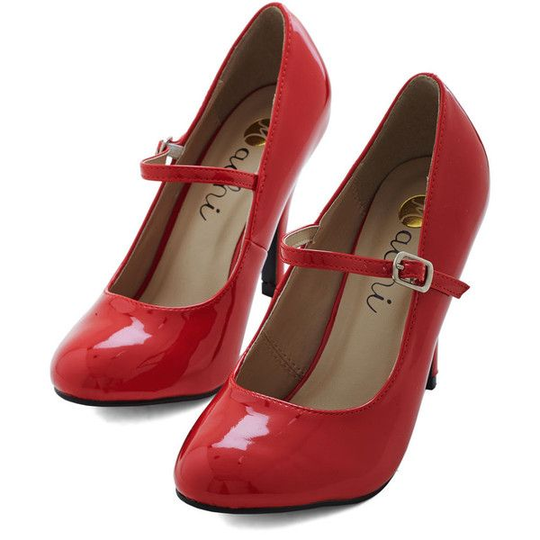 ModCloth 60s Patent Office Heel and other apparel, accessories and trends. Browse and shop 38 related looks.