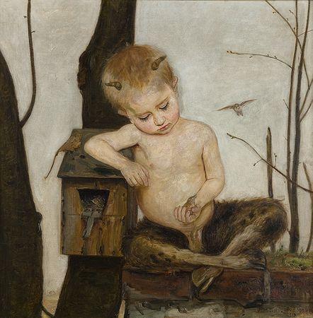 Vlastimil Hofman, (1881–1970).  Spring, 1918, National Museum, Cracow.