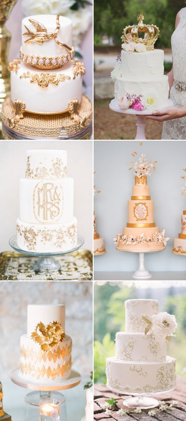 20 Gorgeous Fairytale Wedding Cakes