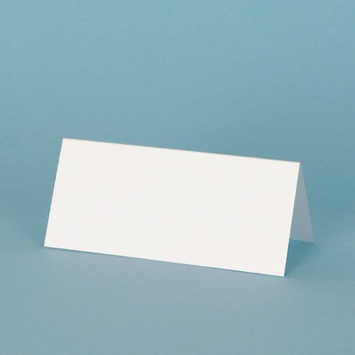 The Paperbox, Place Cards, White hammer 260gsm (100 pack): Amazon.co.uk: Office Products