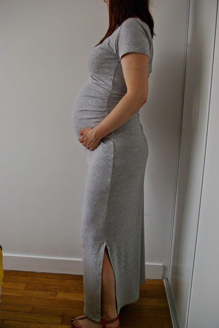 Bien connu Les 25 meilleures idées de la catégorie Robe longue grossesse sur  CE49