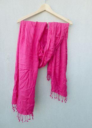 Kup mój przedmiot na #vintedpl http://www.vinted.pl/akcesoria/inne-akcesoria/10549664-rozowy-szal-chusta-amarant-fuksja