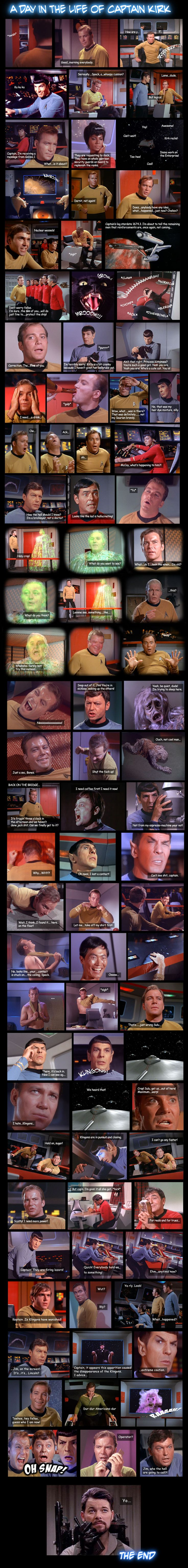 Star Trek: The Original Series by ~Walker82 on deviantART. Super funny!