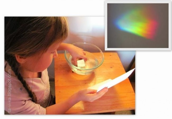 8 экспериментов, которые порадуют вас и ваших детей