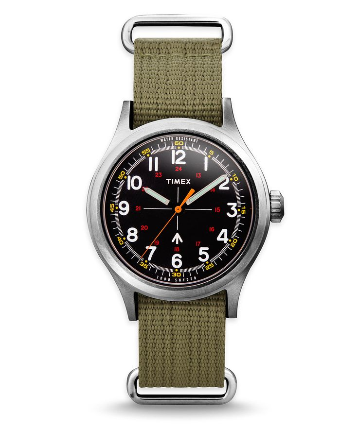The Military Watch by Todd Snyder + Timex | Todd Snyder