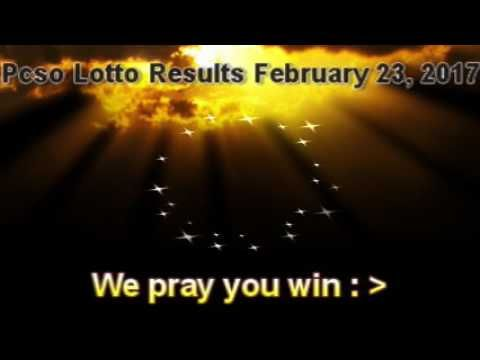 PCSO LOTTO RESULTS  FEBRUARY 23,  2017  Winning Numbers - (More info on: https://1-W-W.COM/lottery/pcso-lotto-results-february-23-2017-winning-numbers/)