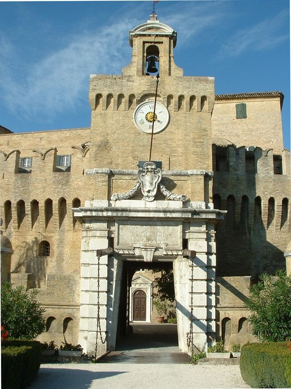 Rocca Priora Castle -sec. XII - Faconara Marittima, Marche - Italy
