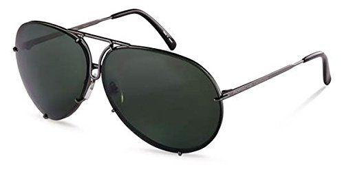 Porsche Design P8478 C Sunglasses P 8478 Gunmetal Frame