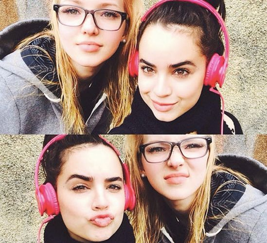 Sofia carson and dove cameron remind me of my daughter and her best friend!