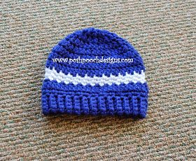 Do you Like working with chunky Yarns? I Love Them! This Beanie is designed with  Lion Brand Hometown USA yarn It is thick, ...
