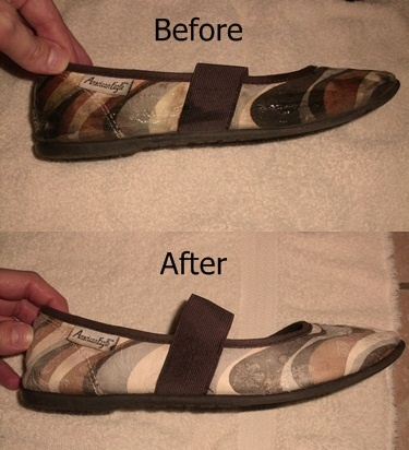 Cleaning Fabric Shoes