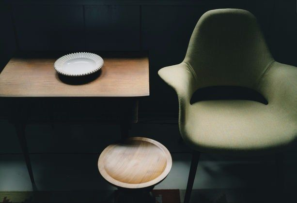High-back fabric chair ORGANIC HIGHBACK Organic Collection by Vitra design Charles