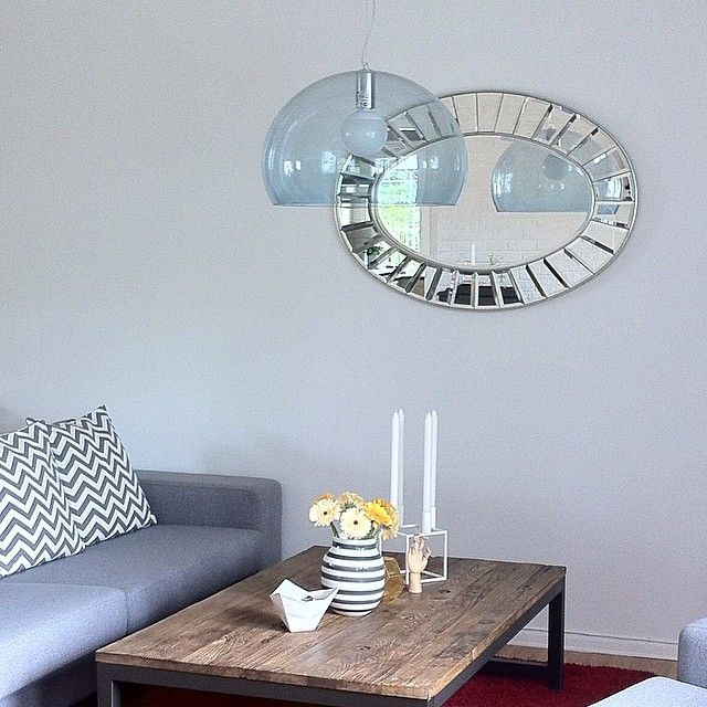 Blue Fly lamp by Kartell | via Instagram - Thanks to @heidihleo