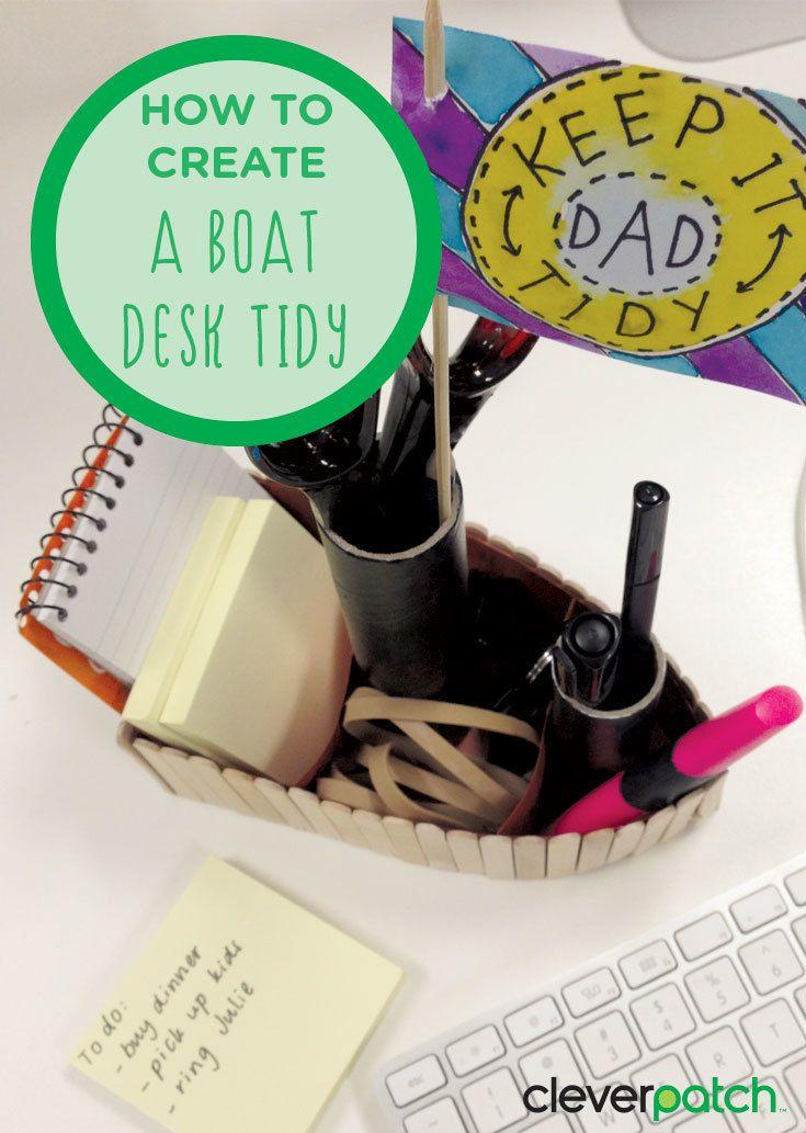 All aboard the Tidy Desk!