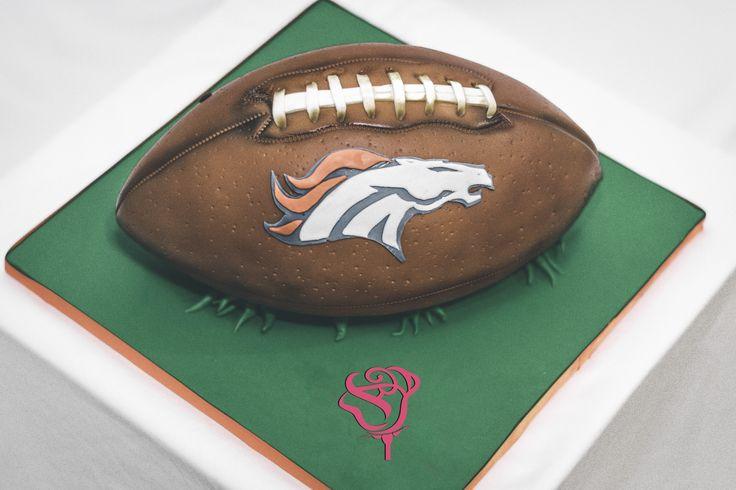 Denver Broncos Football cake