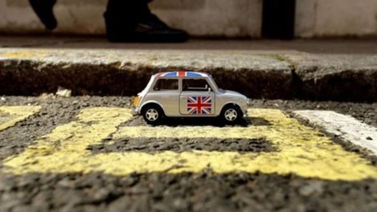 Double yellow lines in central London measuring just 9in (23cm) long are branded…