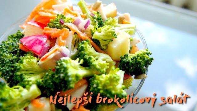 Nejlepší brokolicový salát | Kristina Čechová