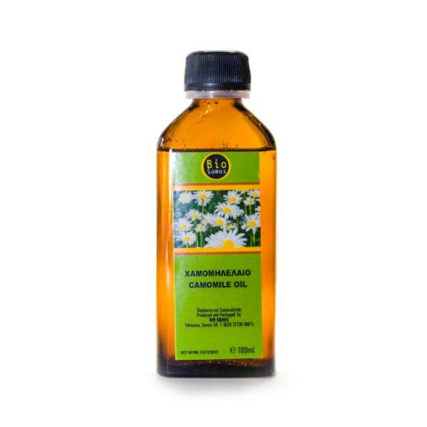 Βιολογικά Έλαια Βάσης - Χαμομηλέλαιο - Bio Samos | 100ml | Σάμος