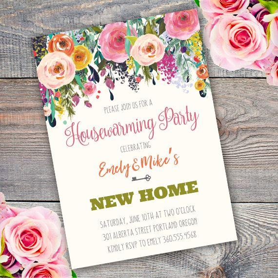 Best 25 Housewarming invitation templates ideas – Housewarming Party Invite Template