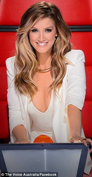 Crossing to the dark side: On Sunday night's episode of The Voice Australia, Delta Goodrem...
