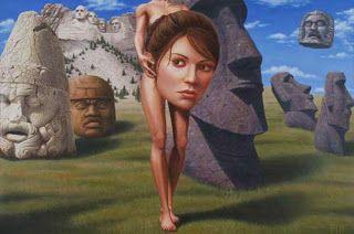antblog: Il surrealismo nuovo e vecchio, l'arte visionaria e gli incubi digitali. Parte prima.