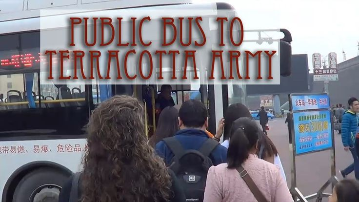 Taking buses from Xi'an South Gate to the Terracotta Army