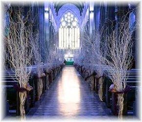 Matrimonio...e un tocco di classe: Matrimonio Religioso: Decorare la Chiesa