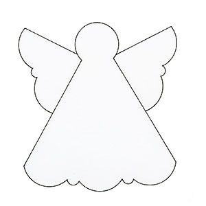 Make an angel Christmas card - Handmade Christmas cards :: allaboutyou.com