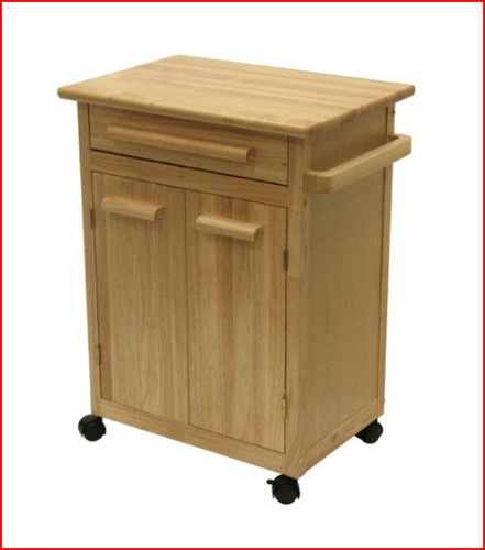 Wooden Rolling Storage Cart With Drawers Woodworking