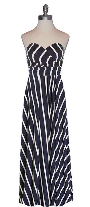 Stripes infinity dress