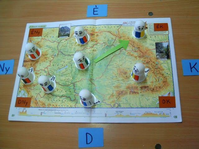 Játékos tanulás és kreativitás: Hazánk nagy tájai és a szomszédos országok-megszemélyesítve