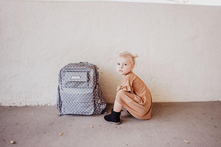 JuJuBe Be Nurtured Dot Dot Dot -- Trendy Diaper Bag Backpack -- Mommy Blog - The Overwhelmed Mommy