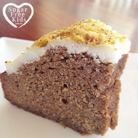 Sugar Free Eggplant Cake recipe