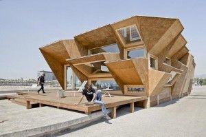 Advanced Pavilion Design That Optimizes Solar Energy Occupation – Endesa Pavilion