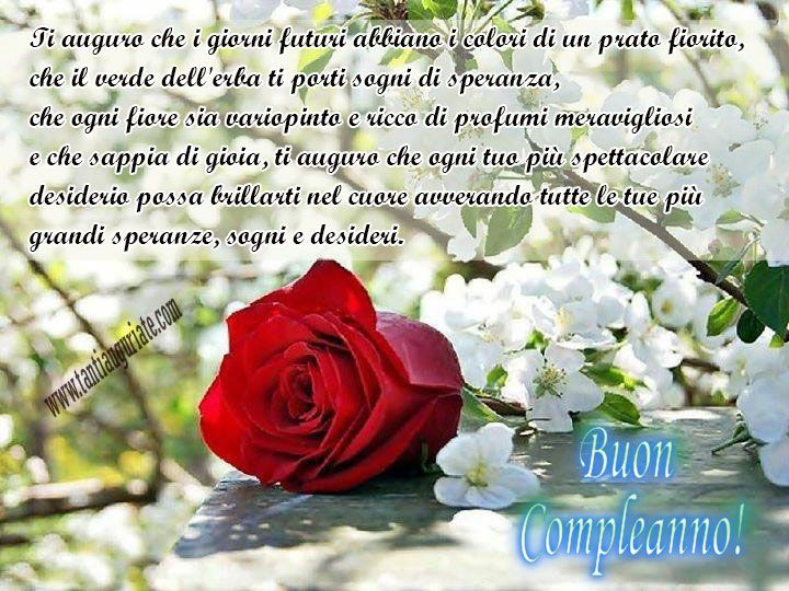 Conosciuto 230 best buon compleanno images on Pinterest | Birthday wishes  MA34
