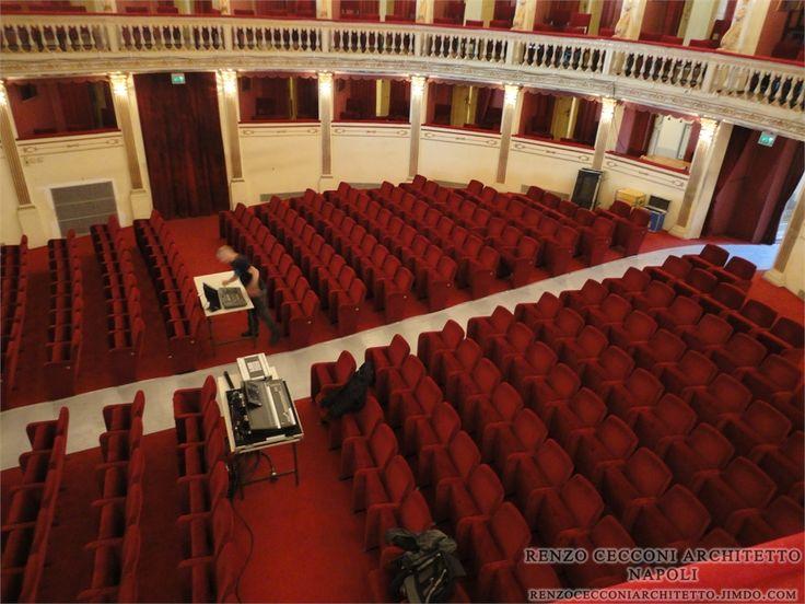 Platea Teatro Stabile Mercadante - #napoli #home #interior #design #furniture #project #architecture #architect #architettura #interiors #arredo #arredamento #edilizia #theater #teatro #platea #audience