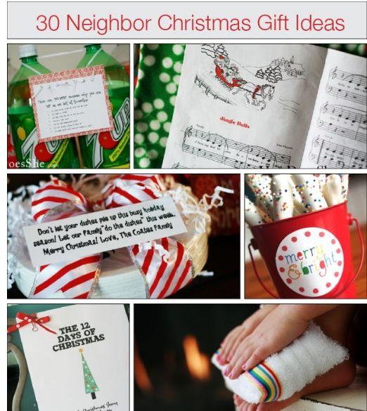 30 Neighbor Christmas Gift Ideas