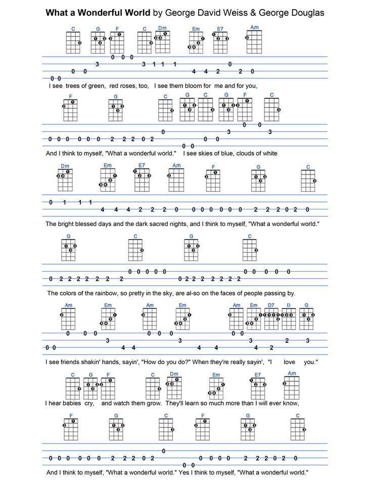 Colorful Creep Uke Chords Crest Song Chords Images Apa Montrealfo