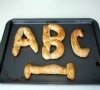 We think this Alphabet Letter Pretzel recipe for kids totally rocks! Learning the alphabet and eating - kids will love it. So, what