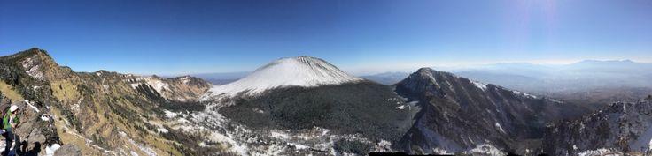 浅間山 黒斑山より