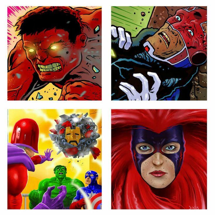 Marvel tiles