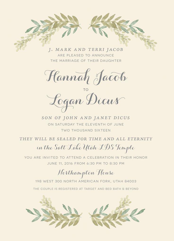 The 25 best Wedding invitation maker ideas on Pinterest