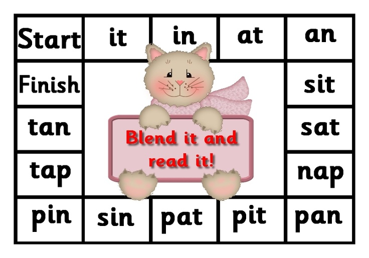 Debbie's Resource Cupboard: satpin, blend it and read it