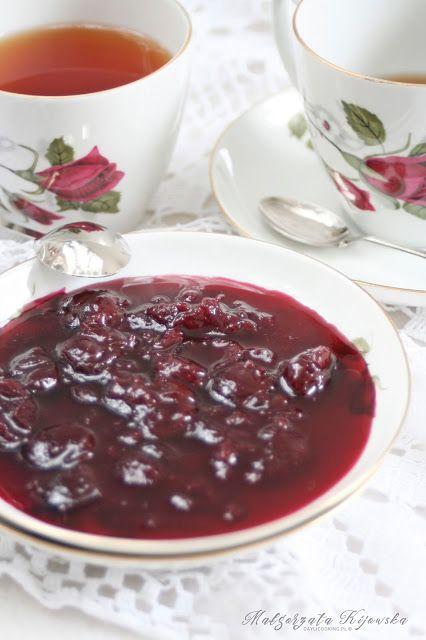 Tradycyjne konfitury wiśniowe według przepisu Marii Disslowej