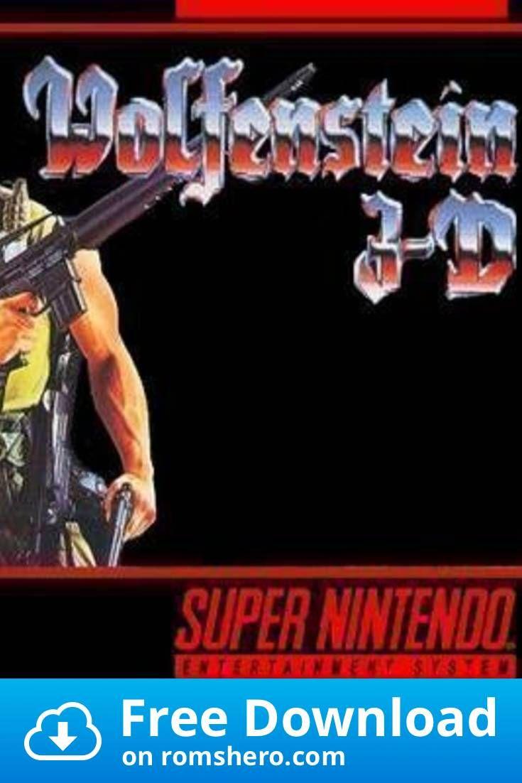 Download Wolfenstein 3d Super Nintendo Snes Rom In 2020