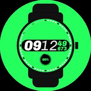 #milliseconds #sport #digital #watchface #smartwatch #wearable #androidwear #lggwatchr #moto360 #design #apparel