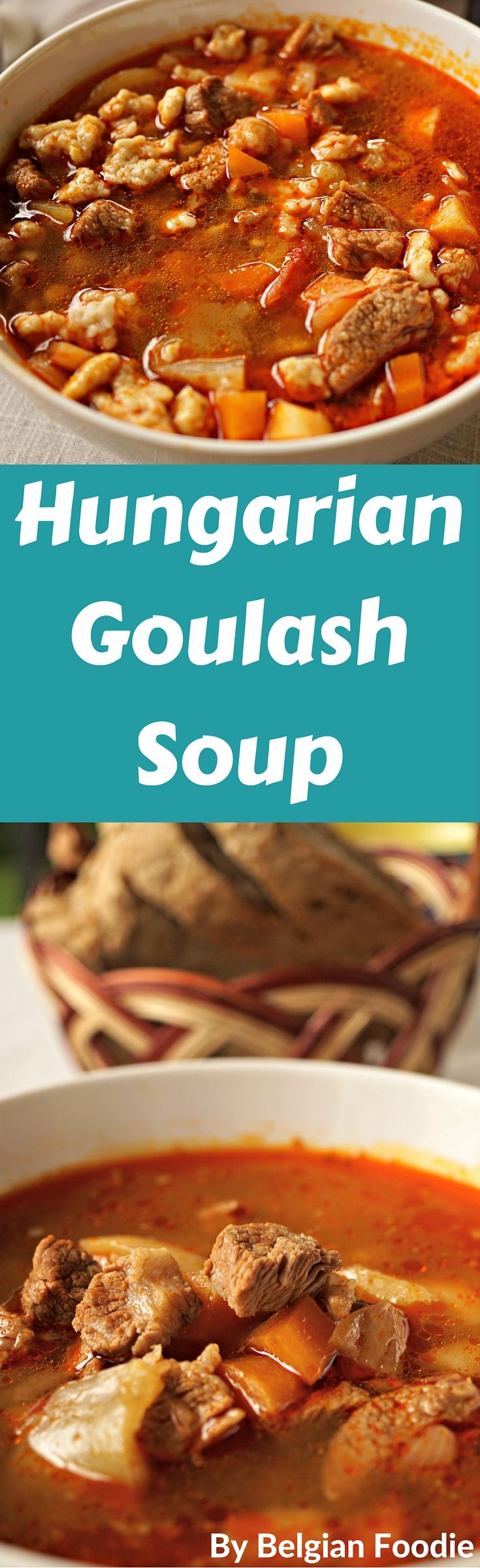 Hungarian Goulash Soup Made at Home for special occasions or any meal when you are looking for a little comfort!